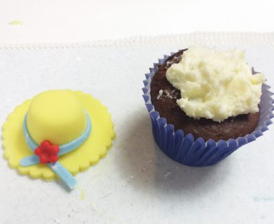 Easter Bonnet Cupcake Toppers