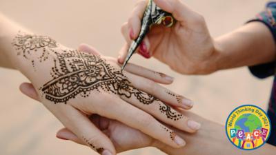 Sangam Henna Hand Painting