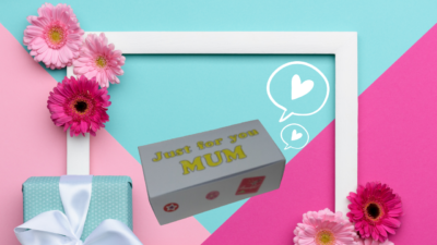 Mother's Day Paper Gift Box