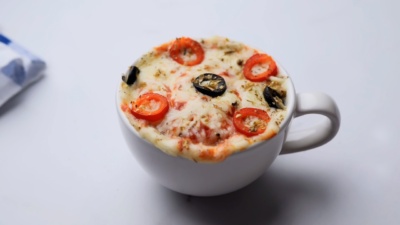 Pizza in a Mug